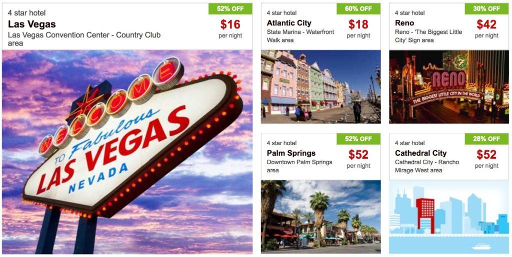 Hotwire מלונות - הצעות למלונות בארה״ב